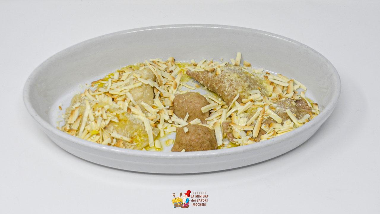 TRIS DI RUFIOI (verze, patate e carne)